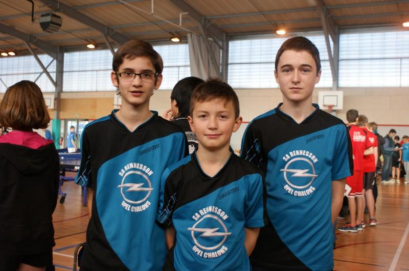 Championnat jeunes 23/01/16 – Résultats