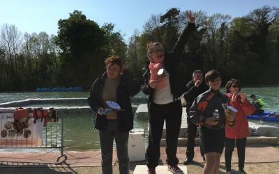 """L'equipe """"Le Mozart"""" Vainqueur du 1 er Biathlon """"Régates des bateaux en Carton-Ping"""""""