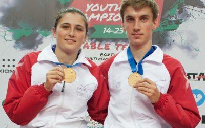 La marseillaise aux championnats d'Europe Jeunes 2017 a retenti