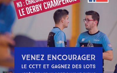 N3 : Châlons vs Charleville, le derby champenois