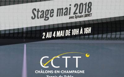 Stage en Mai 2018