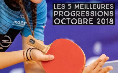 [Progression mensuelle] Meilleures progressions octobre 2018