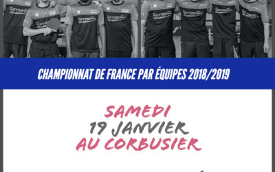 Championnat de France par équipe c'est reparti !