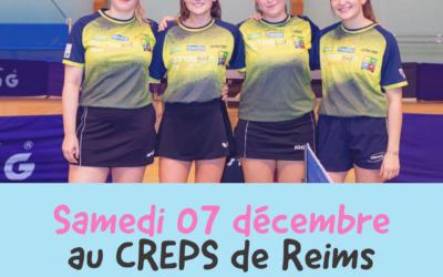Les filles joueront au CREPS à Reims
