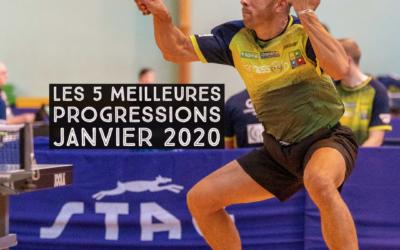 [Progression mensuelle] Meilleures progressions Janvier 2020