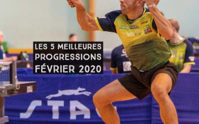 [Progression mensuelle] Meilleures progressions Février 2020
